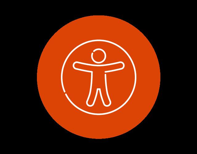Universal access icon