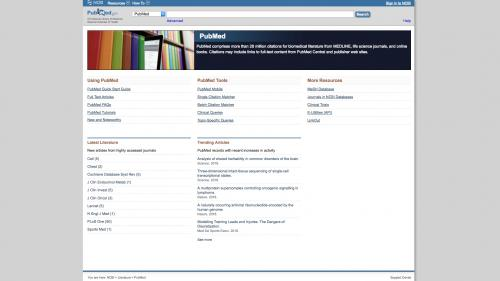 D7 - Working with Config - Biblio - Preferences - PubMed
