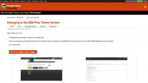 D7 - Appearance - Theme Settings -  Remove Book Navigation LInks - Book Footer Navigation Example