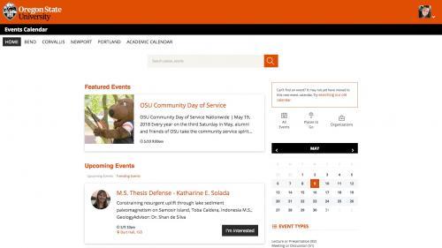 D7 - Working with Content - Calendar Widgets - Calendar Home