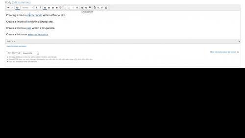 Linkit - Edit Link - Click Cursor Into Link