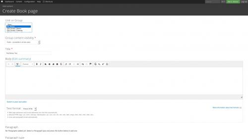 D7 Text Editor - OSU CKEditor Plugins - Button Picker - Create Content