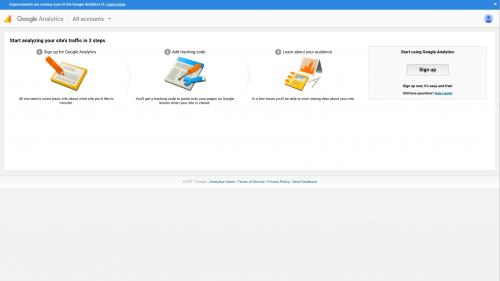 Google Analytics Module - Set Up Account - Go to Google Analytics