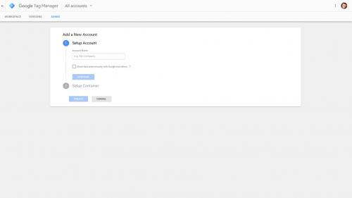 Google Tag Manager - Go to Google Tag Manager