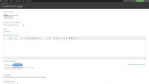 D7 Text Editor - OSU CKEditor Plugins - Button Picker - Change to Full HTML
