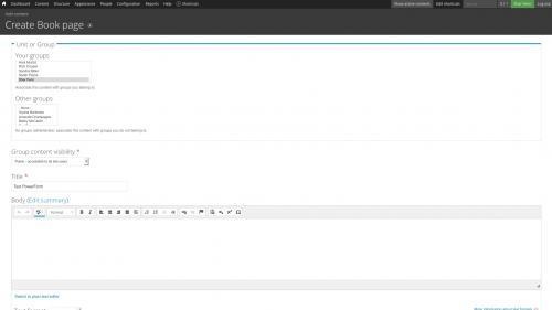 D7 - Text Editor - WYSIWYG Form Controls - DocuSign - Add Title