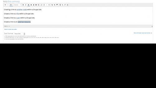 Linkit - External Link - External Link Added