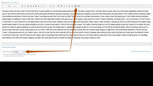 D7 - Working with Content - Text Editor - Media - Full HTML Text Format