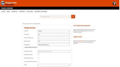D7 - Working With Content - Live Feeds - Localist - Generate RSS