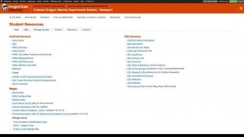 Monsido - Fix Links - Click Edit Tab