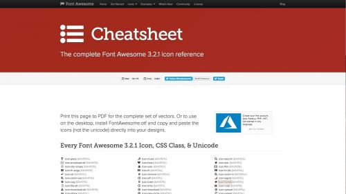 Using Paragraphs - Menu Bar - Font Awesome Home Page