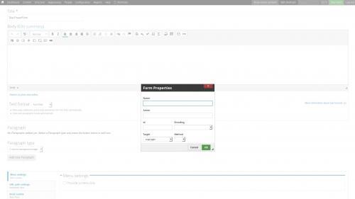 D7 - Text Editor - WYSIWYG Form Controls - DocuSign - Form Properties Box