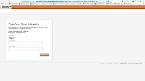 D7 - Text Editor - WYSIWYG Form Controls - DocuSign - Copy PowerForm URL