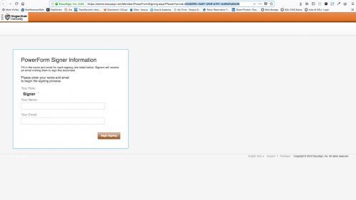 D7 - Text Editor - WYSIWYG Form Controls - DocuSign - PowerForm ID Location in URL