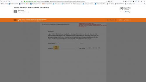 D7 - Text Editor - WYSIWYG Form Controls - DocuSign - Signed Document