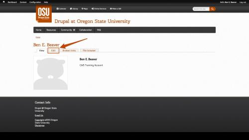 Working With People - OSU Profiles - Default Profile